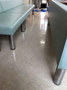 ノンワックス床の医院