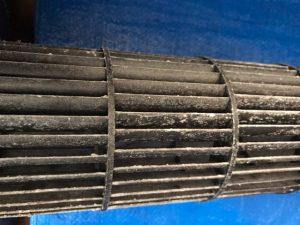 DAIKIN ダイキン AN22LES-W 壁掛け完全分解クリーニング クロスフローファン