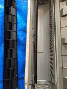 DAIKIN ダイキン AN22LES-W 壁掛け完全分解クリーニング 洗い終わり