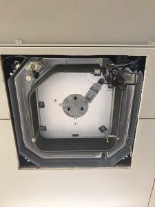 DAIKIN ダイキンFHCP50CB 天井埋め込み式エアコン 分解後