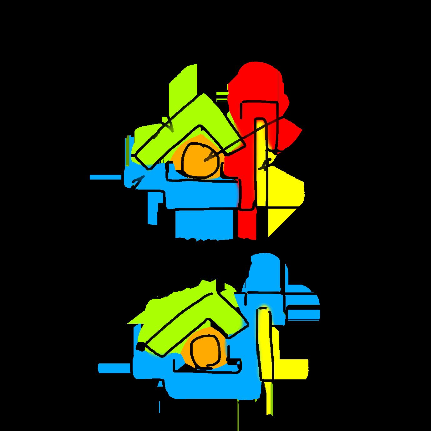エアコンメーカーごとのドレンパンの説明 ダイキンと東芝と一部のシャープ製エアコンはドレンパン  一体形成