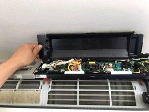 Panasonic パナソニック CS-282CXR-W 壁掛け完全分解クリーニング