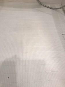 きれいになった床