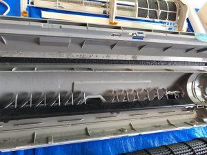 DAIKIN ダイキン F50PTFXP-W ドレンパン一体エアコンのクリーニング  ドレンパン内部