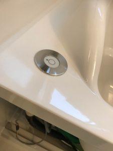 浴槽のボタン回り アフター